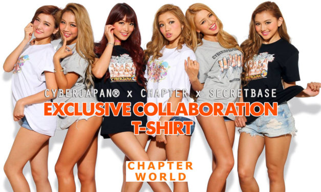 CYBERJAPAN DANCERS × CHAPTER Tシャツ