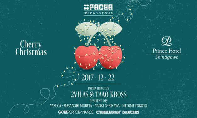 """PACHA IBIZA ON TOUR 2017 """"Cherry X'mas"""""""
