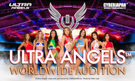 ULTRA ANGELS x CYBERJAPAN!