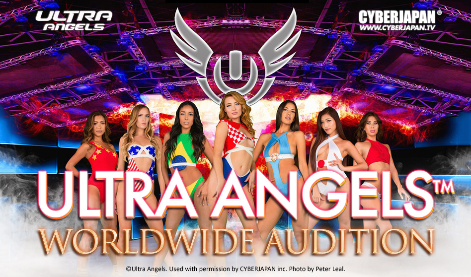 ULTRA ANGELS × CYBERJAPAN!