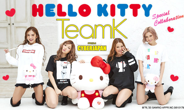 Hello Kitty ✖︎ TeamK from CYBERJAPAN