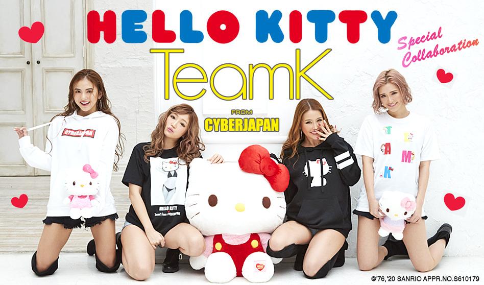 Hello Kitty ✖︎ TeamK from CYBERJAPAN