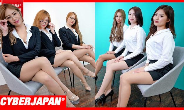 【公式】ミニスカOL女上司と新人メンバーの面接でまさかの展開に!