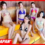 【公式】水着でサウナ!女子会 サウナで汗だく!水風呂で整ってみた!