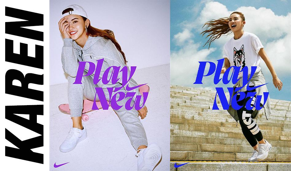 "KAREN ✖︎ アルペン ✖︎ Nike ""Play New"""